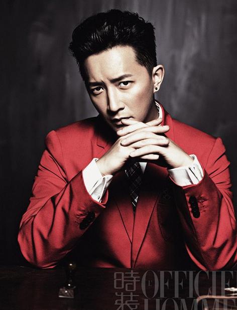 韩庚受邀《时装男士》杂志拍摄6月刊封