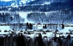 中国雪都阿勒泰邀请广州游客畅玩一冬